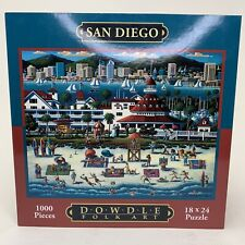 San Diego - Dowdle 1,000 Pieces Jigsaw Puzzle - New - Pieces in Sealed Bag
