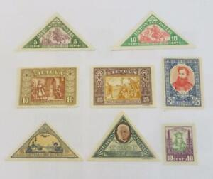 Lithuania 1930 - 40 small collection unused