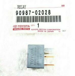 Toyota Lexus Scion 90987-02028 A/C Clutch Fan Relay for Sienna GX460 tC