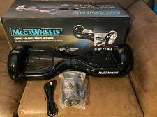 "Megawheels Smart Balance Wheel Black 6.5 inch w/ Charger. ""New"" Open Box"