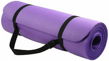 Yoga Mat Thick Exercise Gym Mat Non Slip With Carry Straps