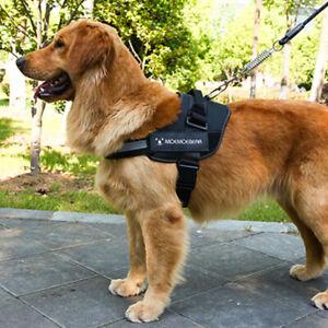 Reflective Dog Harness No Pull  Leash Set Puppy Harnesses Vest Reflective