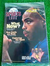 Charles Barkley Cover Collector's Sports Look Magazine  BRAND NEW SEALED Gretzky