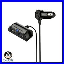 SCOSCHE Powerhub - Car mountable 2-Port dual USB charger for iPod, iPhone, iPad