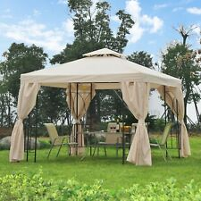 Outsunny 3m x 3m Metal Gazebo Sun Canopy Shelter Garden Outdoor Party Tent