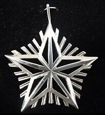 """Silver Star Sterling Christmas Ornament Hand and Hammer 2"""" High"""