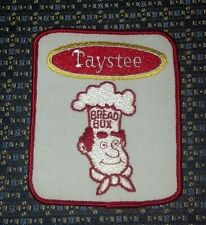 VINTAGE TAYSTEE BREAD BOX PATCH