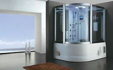 Wellgems vapore doccia/vasca idromassaggio a2213 sauna a vapore whirlwanne 180x130 cm 2 persone