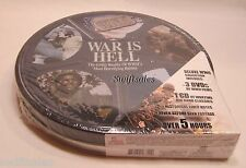 Hollywood Goes To War: War Is Hell - 3 DVD & 1 CD Metal Tin Gift Set