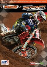 Maxxis ACU British Motocross Championship - Official review 2012 (New DVD) MX