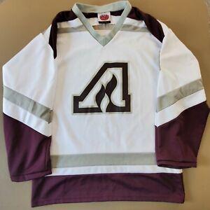 Anoka Tornadoes Minnesota High School Hockey White K1 Jersey Medium #14