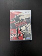House of the Dead Overkill Nintendo Wii SEGA NEW factory sealed