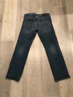 Express Mens Jeans Rocco Slim Fit Straight Leg 30x30