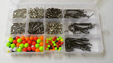 400 piece sea fishing rig making kit with storage box