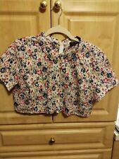 Reclaimed Vintage crop shirt - Women's size 10