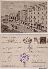 # MILANO: ALBERGO ATLANTICO - VIA NAPO TORRIANI    1942