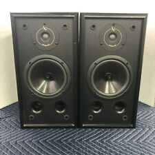 INFINITY RS 325 - 2-WAY BOOKSHELF SPEAKERS- PROFESSIONALLY REFOAMED - EXCELLENT