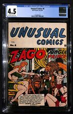 UNUSUAL COMICS # 8 CGC 4.5 - Bell Features - 1st Annual Canadiana Auction