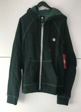 Element Brand Zip-Up Hoodie / Green Size XS New Free P&P UK Seller