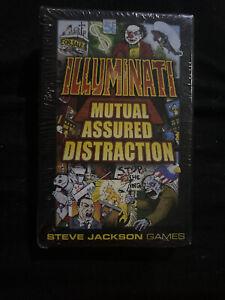 illuminati INWO New World Order Mutual Assured Distraction Expansion 1st Edition