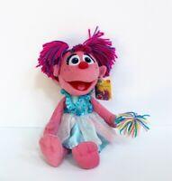 "Gund Sesame Street Abby Cadabby Iridescent Wings Plush Stuffed Toy 12"""