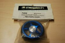 Megatech 7202 Blue Aluminum 5 Star Steering Wheel for Traxxas Radio Control
