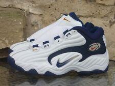 Vintage 1997 Nike Air Props Uptempo UK10.5 /US11.5 OG White Basketball Deadstock