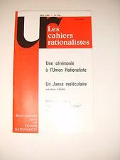 Les cahiers rationalistes N°450 Un Janus moleculaire Deliat