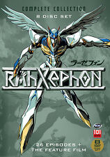 RahXephon . Complete Collection . 26 Episodes + Feature Film . Anime . 8 DVD NEU
