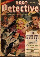BEST DETECTIVE  December, 1947  Vol. 1, No. 1