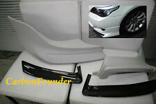 BMW E60 5-Series with M-TECH CARBON + UNPAINT FRONT SPLITTER Product of Taiwan