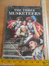 The Three Musketeers Golden Picture Classic Book 1960's
