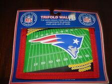 New England Patriots Trifold Wallet Nylon-Velcro Closure