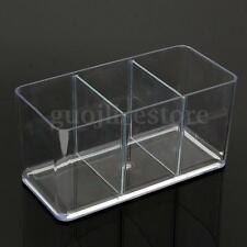 Clear Acrylic Three-Way Betta Fish Tank Aquarium Breeding Bowl Home Garden Decor