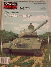 Kartonmodell Panzer T-34/85