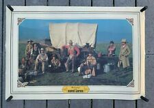 """VTG 1982 BIANCHI Leather """"The Cowboys"""" Promotional Advertising Poster 24""""x35"""""""