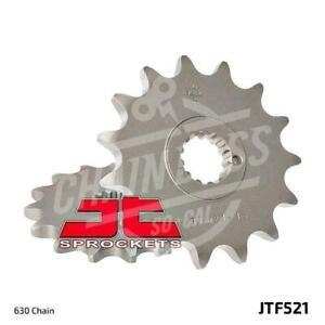 JT Sprockets 630 Front Sprocket Steel 15 Teeth Natural JTF521.15