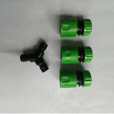 New listing Compatible Garden Hose Pipe Splitter Joiner New Y Piece Junction Connectors Ea7