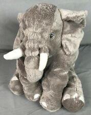 "Ikea Gray Klappar Small Elefant Elephant Jattestor Stuffed Animal Plush 12"""