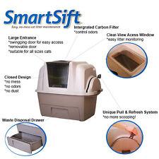 Cat Pan Hagen Automatic Litter Box Catit Sifting Design SmartSift