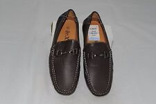 $80 NWT Brixton Men's Leather Slip-Ons Loafer Dress Shoes Size 8