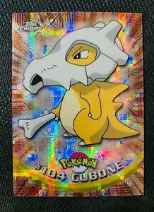 2000 Topps Chrome Pokemon T.V. Series 2 #104 Cubone Tekno - ULTRA RARE!
