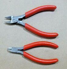 "USGI Snap-On E710ACG 5-3/16"" Flush Side Cutter & 184CCP 4"" Wire Cutters USA"