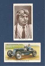 RAYMOND MAYS  ERA British Empire Trophy winner 1938 original cards
