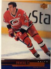 '99/00 Keith Primeau Carolina Hurricanes NHL Hockey Upper Deck #201 Card Raleigh