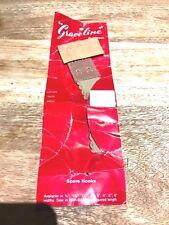 Graceline Bra-Back-Adjustable Brassiere Elastic Replacement-On Card-50's-Aust.