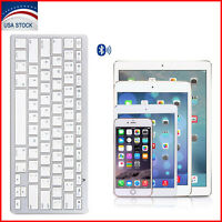 Wireless Bluetooth Slim Keyboard for Mac Android Windows iOS Tablet PC Laptop