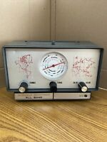 Rare UNELCO Shortwave Radio Receiver Model 1914 UNTESTED All Band Overseas