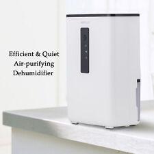 Portable Dehumidifier for Rooms, Basement, Closet, RV, Vehicles, Ultra-Quiet New