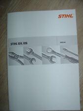 Reparaturanleitung für Stihl 024, 026 + Teilelisten
